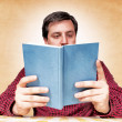 Book reader - Stockfoto