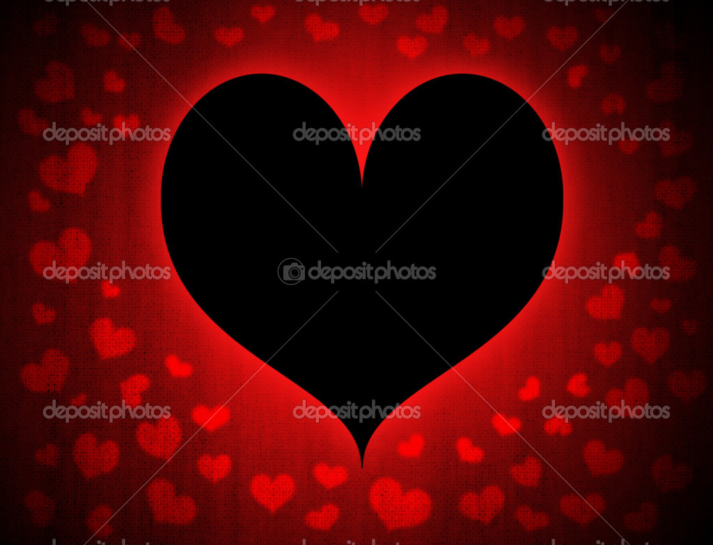 Abstract Valentine blank card  Stock Photo #18674449