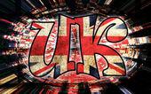 UK sign — Stock Photo