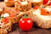 Tomato cherry — Stock Photo
