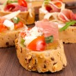 Stock Photo: Fresh bruschetta