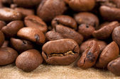 Raw coffee — Stock Photo