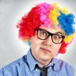 Stock Photo: Business clown