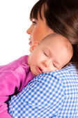 Sleepy baby — Stock Photo