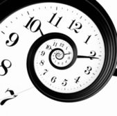 Relógio de droste — Foto Stock