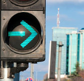 Gire a la derecha — Foto de Stock