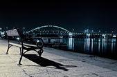 Yalnız tezgah — Stok fotoğraf