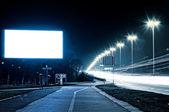 Boş bilboard — Stok fotoğraf