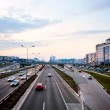 Highway at dusk — Stock Photo #21616377