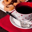 Coffee and donuts — Foto de Stock