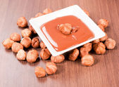 Sweet nut cream — Stockfoto
