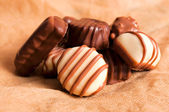 Sweet pralines — Stock Photo