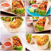 Meksika yemeği — Stok fotoğraf