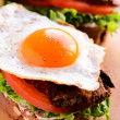 Egg sandwich — Stock Photo