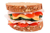 Sandwich isolated — Stock Photo