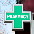 Pharmacy sign — Foto de Stock