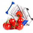 Wheelchair and tomato — Stock Photo #24048707