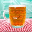 Stock Photo: Beer pint