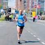 Belgrade marathon — Stock Photo