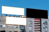 Three billboard — Stock Photo
