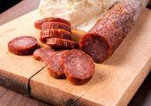 Serbian sausage — Stock Photo