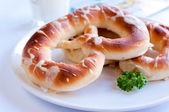 Salted pretzels — Stock Photo