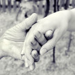 Hand of friendship — Stock Photo #25175093