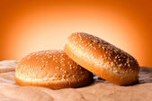Fresh buns — Stock Photo