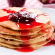 Homemade pancakes — Stock Photo #25738197