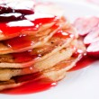 American pancakes — Stock Photo