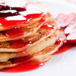 Stock Photo: American pancakes