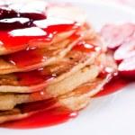American pancakes — Stock Photo