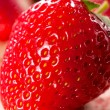 strawberriy macro — Foto Stock