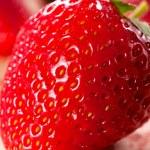 strawberriy macro — Foto Stock