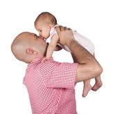 Dziecko bite — Zdjęcie stockowe