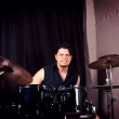 Angry drummer — Stock Photo #26630099