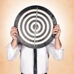 Head target — Stock Photo #26630253