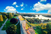 Belgrade panorama — Stock Photo