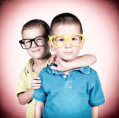 Little twins — Stock Photo