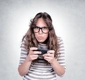 怒っている女性 — ストック写真