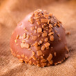 Stock Photo: Single praline