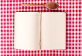 Cooking book — Stock Photo