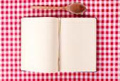 Yemek kitabı — Stok fotoğraf