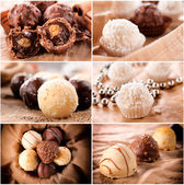 Pralines time — Stock Photo