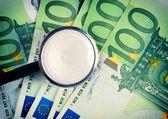 Geld und stethoskop — Stockfoto