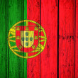 Portugal flag — Stock Photo