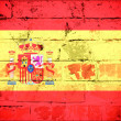 Spain flag — Stock fotografie