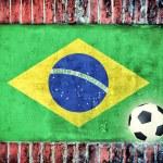 Brasilian flag — Stock Photo #28825373