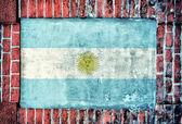 Argentina flag — Stockfoto