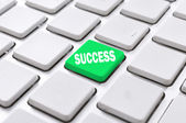 Success button — Stock Photo